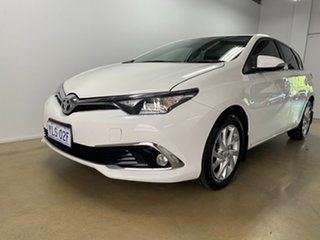 2016 Toyota Corolla ZRE182R MY15 Ascent Sport White 6 Speed Manual Hatchback