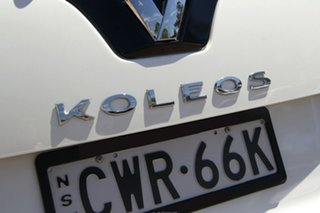 2013 Renault Koleos H45 Phase III Expression Pearl White 1 Speed Constant Variable SUV