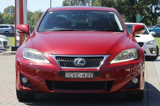 2011 Lexus IS GSE21R IS350 Sports Luxury Burgundy 6 Speed Sports Automatic Sedan