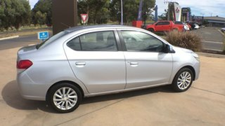 2014 Mitsubishi Mirage LA MY15 ES Silver 1 Speed Constant Variable Sedan