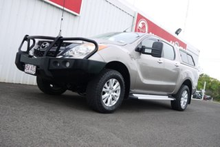 2013 Mazda BT-50 MY13 GT (4x4) Gold 6 Speed Automatic Dual Cab Utility.