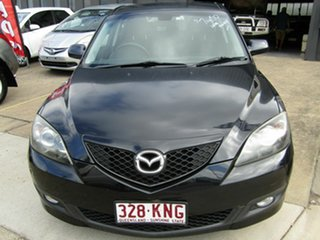 2007 Mazda 3 BK10F2 Maxx Sport Black 5 Speed Manual Hatchback