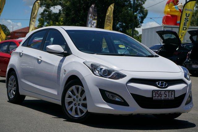 Used Hyundai i30 GD Active Toowoomba, 2012 Hyundai i30 GD Active Creamy White 6 Speed Manual Hatchback