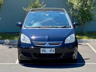 2006 Mitsubishi Colt RG MY06.5 ES Black 5 Speed Manual Hatchback.