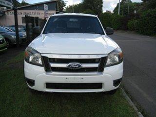 2010 Ford Ranger PK XL (4x2) White 5 Speed Manual Dual Cab Pick-up.