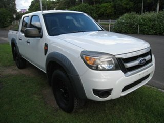 2010 Ford Ranger PK XL (4x2) White 5 Speed Manual Dual Cab Pick-up