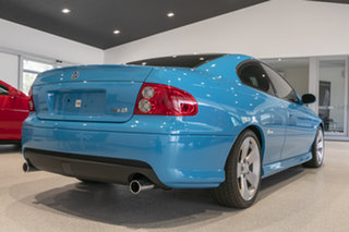 2005 Holden Monaro VZ CV8 Turismo Blue 6 Speed Manual Coupe.