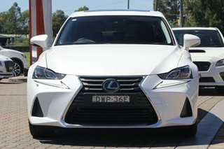 2018 Lexus IS GSE31R IS350 Sports Luxury White 8 Speed Sports Automatic Sedan