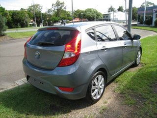 2017 Hyundai Accent RB4 Active Silver 6 Speed Automatic Hatchback