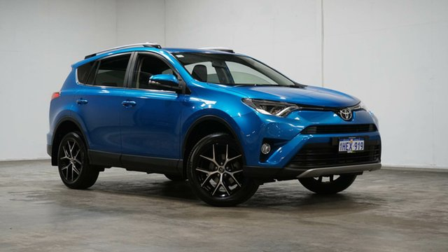 Used Toyota RAV4 ZSA42R GXL 2WD Welshpool, 2017 Toyota RAV4 ZSA42R GXL 2WD Blue 7 Speed Constant Variable Wagon
