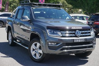 2016 Volkswagen Amarok 2H MY17 TDI550 4MOTION Perm Highline Grey 8 Speed Automatic Utility.