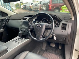 2009 Mazda CX-9 TB10A3 MY10 Luxury White 6 Speed Sports Automatic Wagon