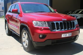 2011 Jeep Grand Cherokee WK Laredo (4x4) Red 5 Speed Automatic Wagon.