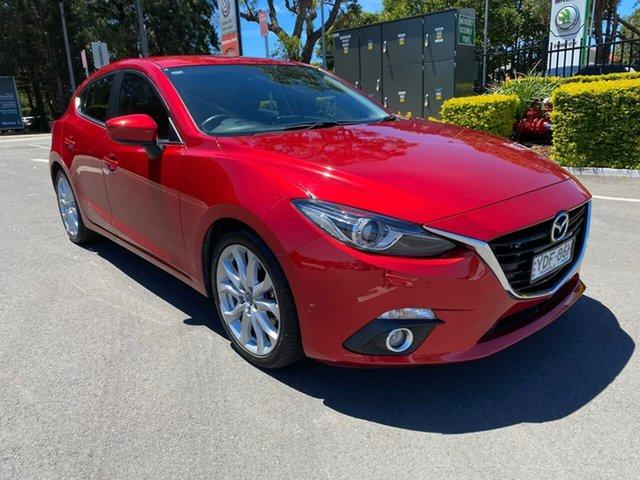Used Mazda 3 BM5478 Maxx SKYACTIV-Drive Botany, 2015 Mazda 3 BM5478 Maxx SKYACTIV-Drive Red 6 Speed Sports Automatic Hatchback