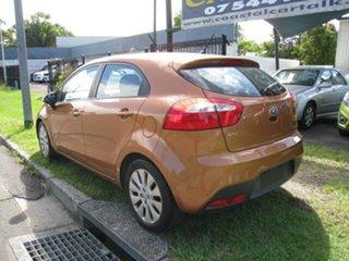 2012 Kia Rio UB SLi Orange 6 Speed Automatic Hatchback