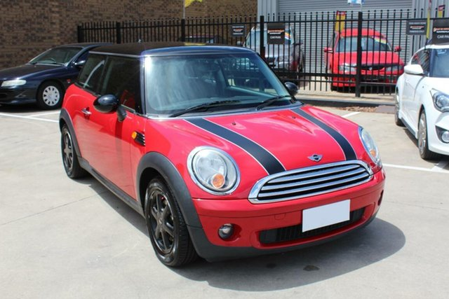 Used Mini Cooper R56 Hoppers Crossing, 2008 Mini Cooper R56 Red 6 Speed Manual Hatchback