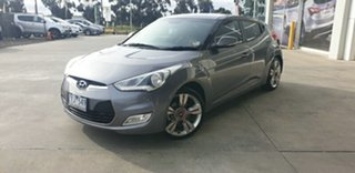 2013 Hyundai Veloster FS3 Street Coupe Sonic Silver 6 Speed Manual Hatchback.