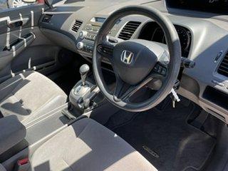 2007 Honda Civic MY07 VTi Red 5 Speed Automatic Sedan