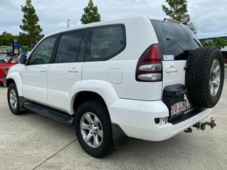 2006 Toyota Landcruiser Prado KZJ120R GXL White 4 Speed Automatic Wagon