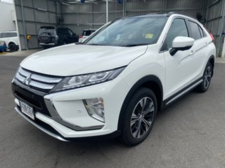 2019 Mitsubishi Eclipse Cross YA MY20 Exceed AWD White 8 Speed Constant Variable Wagon