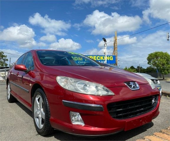 Used Peugeot 407 ST Executive Archerfield, 2005 Peugeot 407 ST Executive Red 4 Speed Sports Automatic Sedan