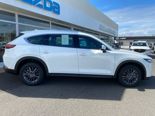 2020 Mazda CX-8 Snowflake White.