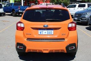 2013 Subaru XV G4X MY14 2.0i-L AWD Orange 6 Speed Manual Wagon