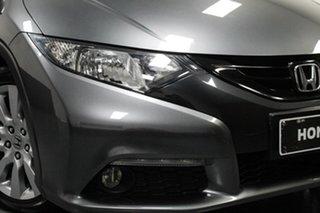 2013 Honda Civic 9th Gen MY13 VTi-L Grey 5 Speed Sports Automatic Hatchback.