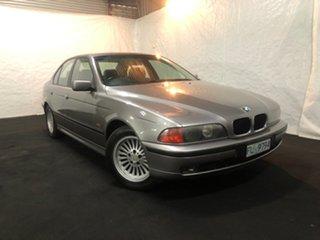 1996 BMW 5 Series E34 525i Executive Silver 5 Speed Automatic Sedan.