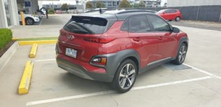 2018 Hyundai Kona OS.2 MY19 Highlander 2WD Pulse Red/black Roof 6 Speed Sports Automatic Wagon.