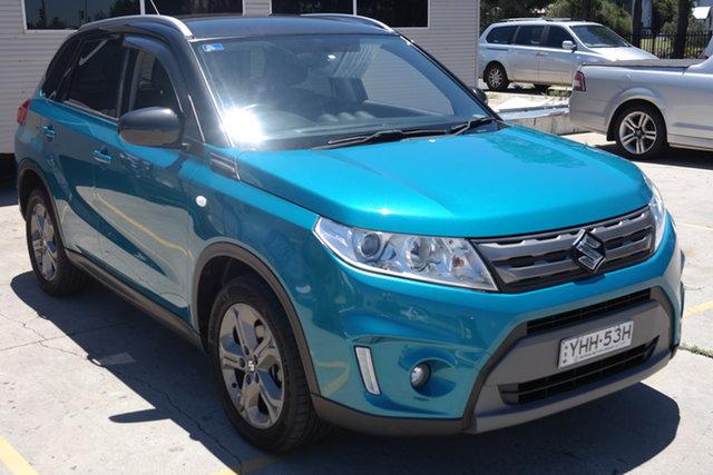 Used Suzuki Vitara LY RT-S 2WD Maryville, 2016 Suzuki Vitara LY RT-S 2WD Blue 6 Speed Sports Automatic Wagon