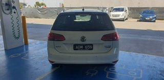 2015 Volkswagen Golf VII MY15 110TDI DSG Highline White 6 Speed Sports Automatic Dual Clutch Wagon