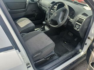 2003 Holden Astra TS MY03 CD White 4 Speed Automatic Hatchback