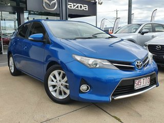 2013 Toyota Corolla Ascent Sport Blue 7 Speed Constant Variable Hatchback.