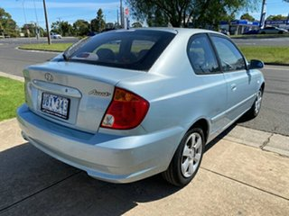 2005 Hyundai Accent LC MY04 GL Blue 5 Speed Manual Hatchback