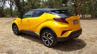 2018 Toyota C-HR NGX10R Koba S-CVT 2WD Yellow 7 Speed Constant Variable Wagon