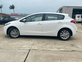 2015 Kia Cerato YD MY15 S Premium White 6 Speed Sports Automatic Hatchback