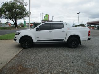 2017 Holden Colorado RG MY18 Z71 Pickup Crew Cab White 6 Speed Sports Automatic Utility.