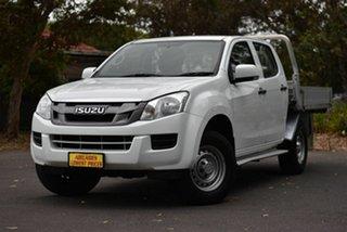 2014 Isuzu D-MAX MY14 SX Crew Cab 4x2 High Ride White 5 Speed Sports Automatic Utility.