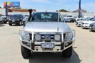2013 Ford Ranger PX XLT Super Cab Silver 6 Speed Manual Utility