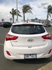 2013 Hyundai i30 GD MY14 Elite Alaskan White 6 Speed Automatic Hatchback