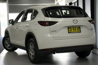 2018 Mazda CX-5 MY17.5 (KF Series 2) Maxx (4x2) White 6 Speed Automatic Wagon.