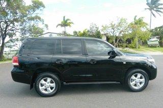 2009 Toyota Landcruiser UZJ200R MY10 VX Black 5 Speed Sports Automatic Wagon.