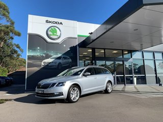 2020 Skoda Octavia NE MY20.5 110TSI DSG Silver 7 Speed Sports Automatic Dual Clutch Wagon.