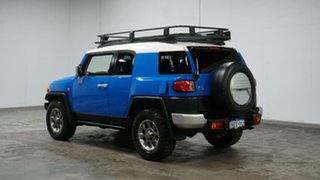 2012 Toyota FJ Cruiser GSJ15R Blue 5 Speed Automatic Wagon.