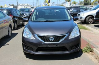2013 Nissan Pulsar C12 ST Silver 1 Speed Constant Variable Hatchback.