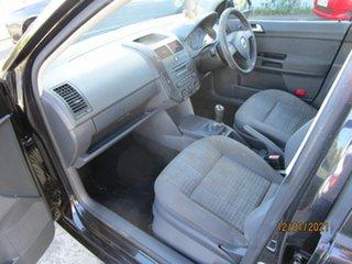 2007 Volkswagen Polo 9N MY07 Upgrade TDI Black 5 Speed Manual Hatchback