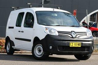2018 Renault Kangoo F61 Phase II Maxi LWB EDC White 6 Speed Sports Automatic Dual Clutch Van.