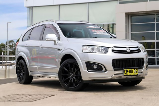 Used Holden Captiva CG MY14 7 AWD LTZ Liverpool, 2014 Holden Captiva CG MY14 7 AWD LTZ Silver 6 Speed Sports Automatic Wagon