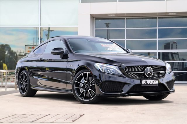 Used Mercedes-Benz C-Class C205 C43 AMG 9G-Tronic 4MATIC Liverpool, 2016 Mercedes-Benz C-Class C205 C43 AMG 9G-Tronic 4MATIC Black 9 Speed Sports Automatic Coupe